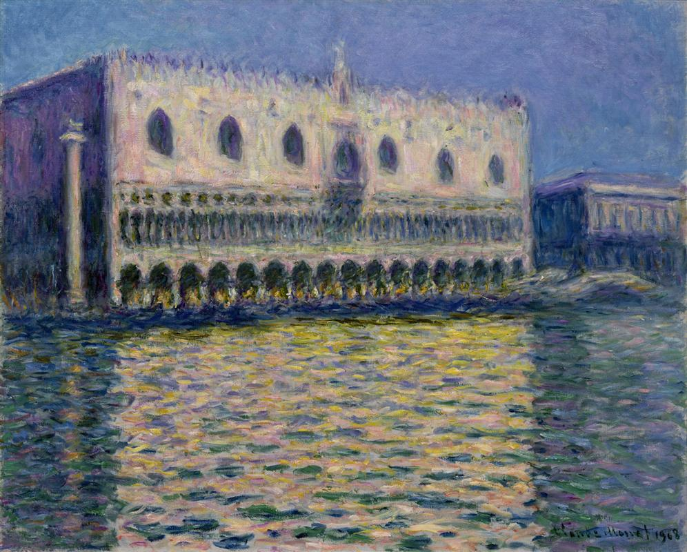 The Palazzo Ducale by Claude Monet