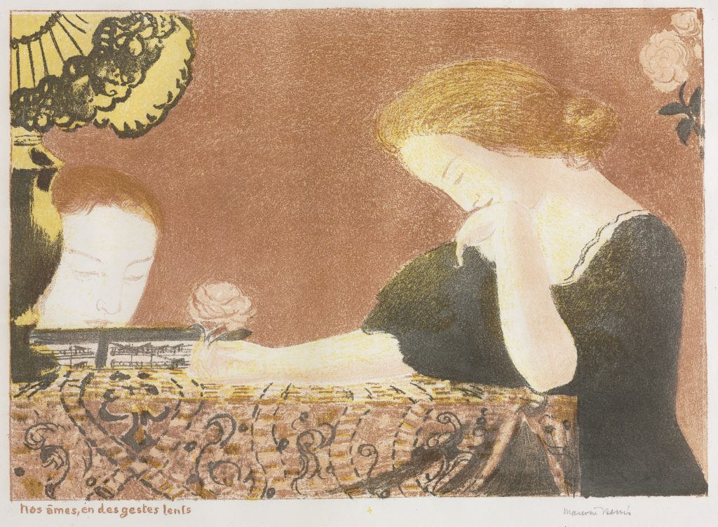 Color lithograph by Maurice Denis