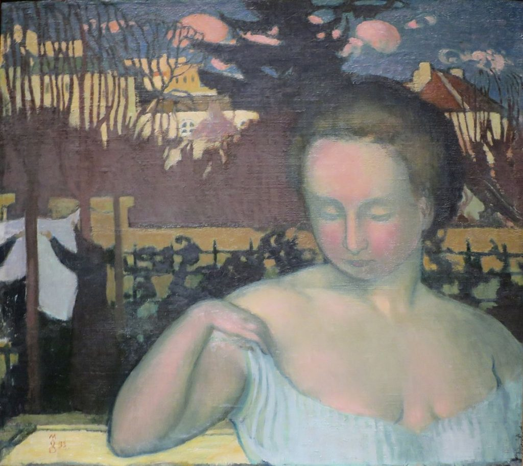 Maurice Denis Portrait of his wife Marthe Denis