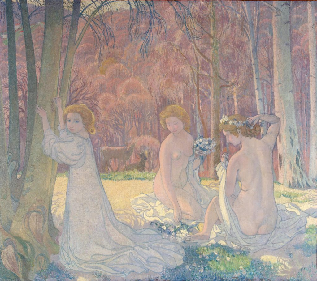 Maurice Denis Painting - One of the Religious post impressionism artists