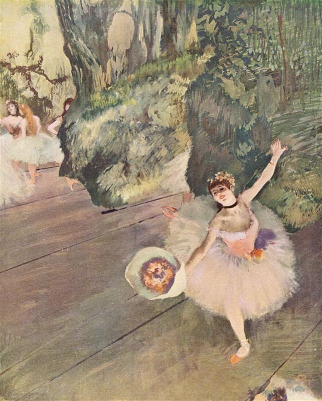 Edgar Degas artworks of the Paris Ballet