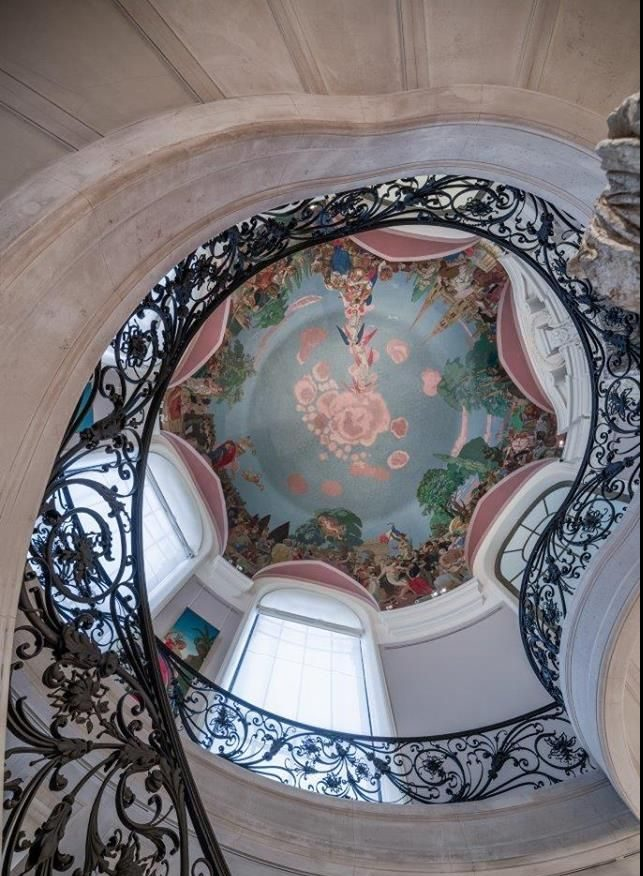 The Dome in the Petit Palais in Paris painted by Maurice Denis