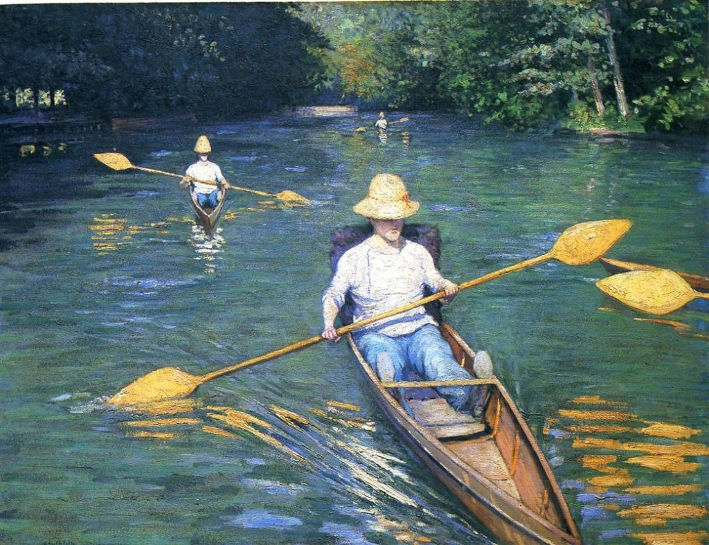 Gustave Caillebotte Painting - Yerres River