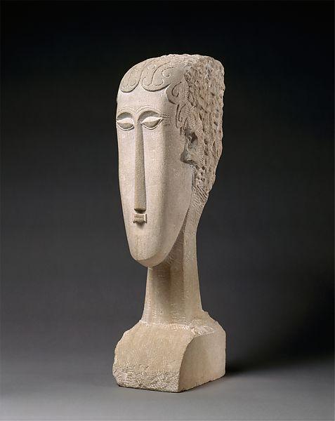 Amedeo Modigliani sculpture