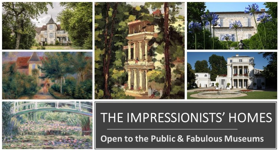 The famous Impressionists' Homes