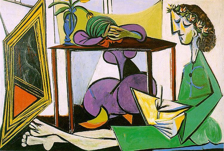 Pablo Picasso Painting [Public Domain]
