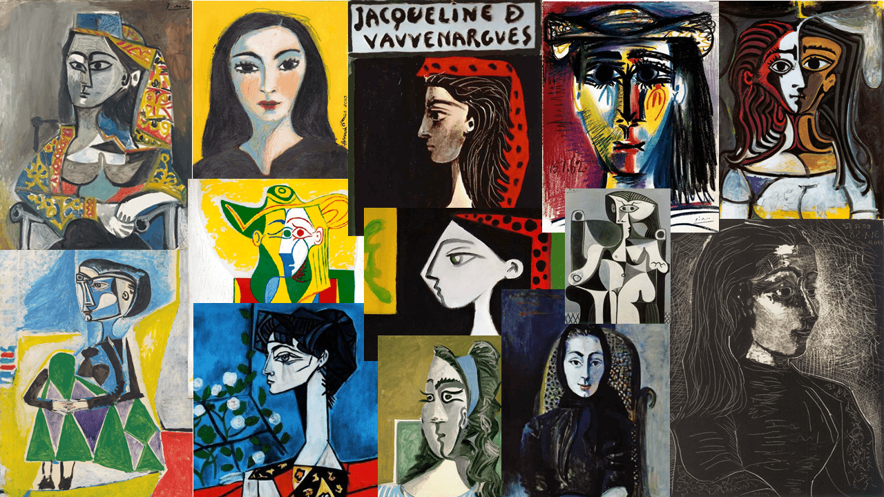 Portraits of Jacqueline Roque by Pablo Picasso