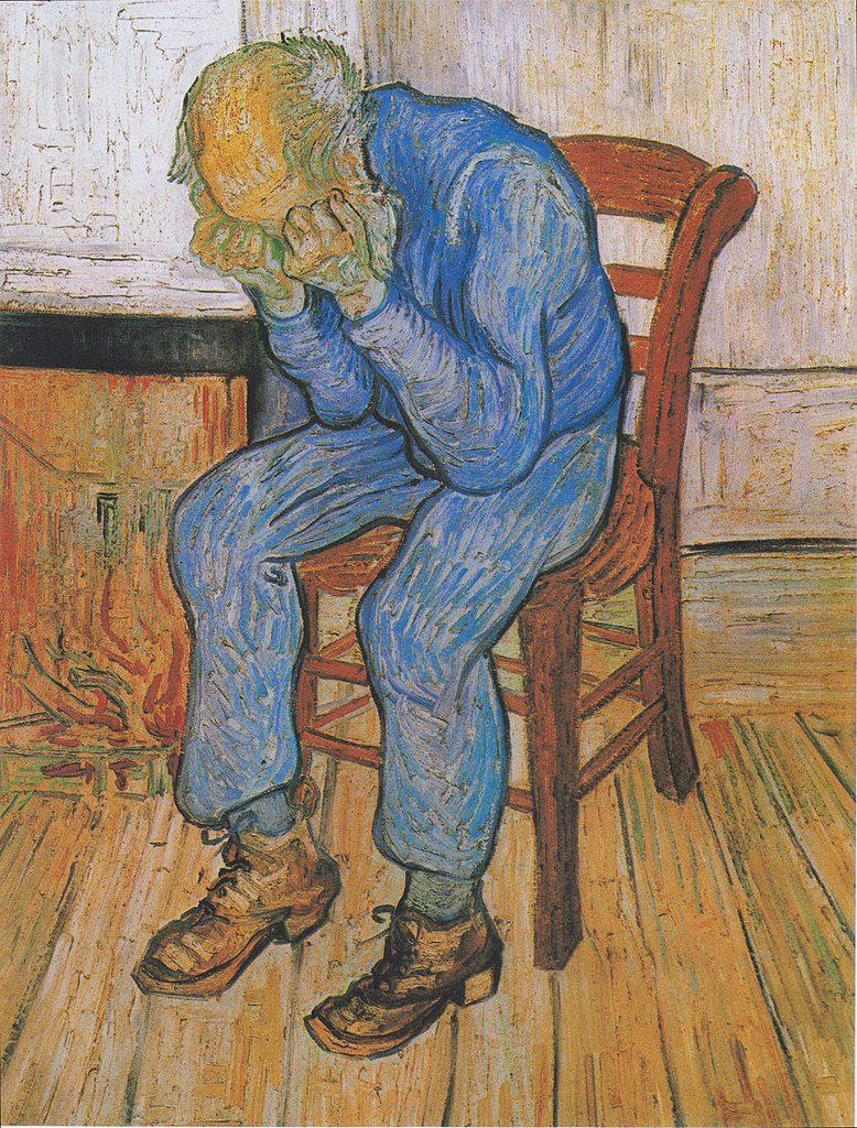 Eternity's Gate - Van Gogh Painting