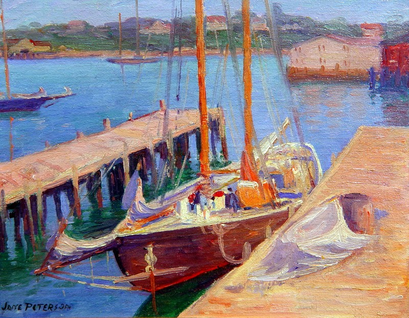 Jane Peterson Painting - Fauvism Art
