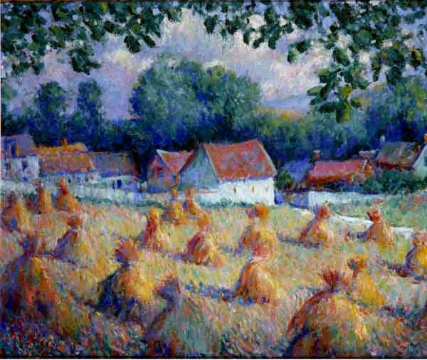 Theodore Earl Butler one of the 19th century American artists who embraced impressionism