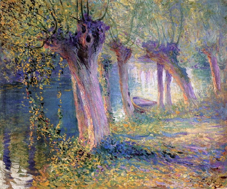 Guy Orlando Rose Painting - Americans in France