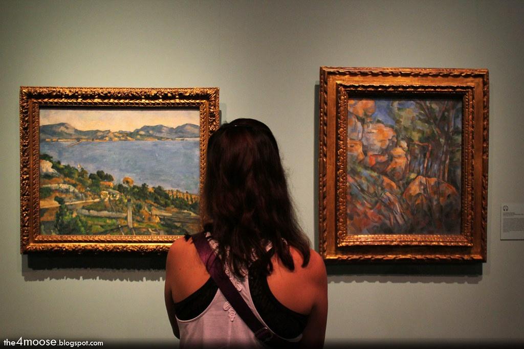 Paul Cezanne art exhibitions in 2021 - 2022