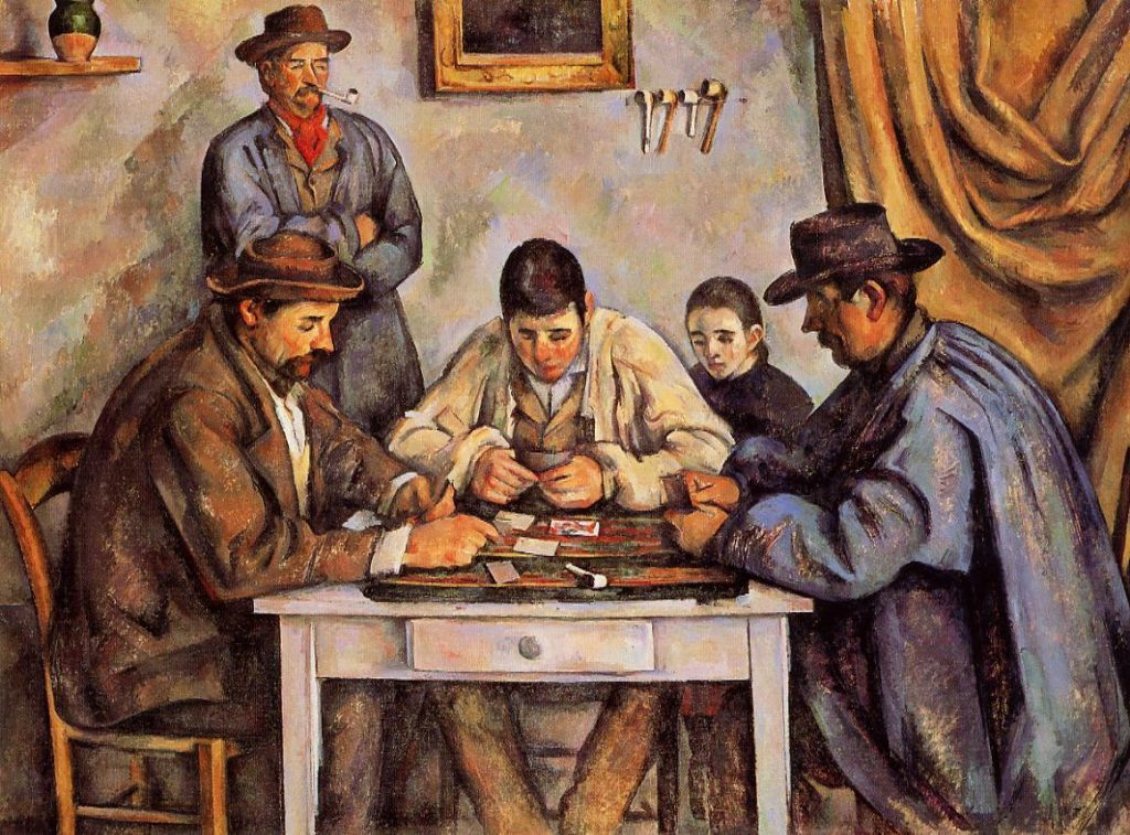 Card Players by Paul Cezanne