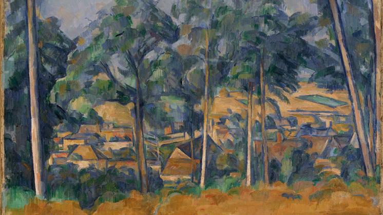 Post-Impressionism artwork by Paul Cezanne