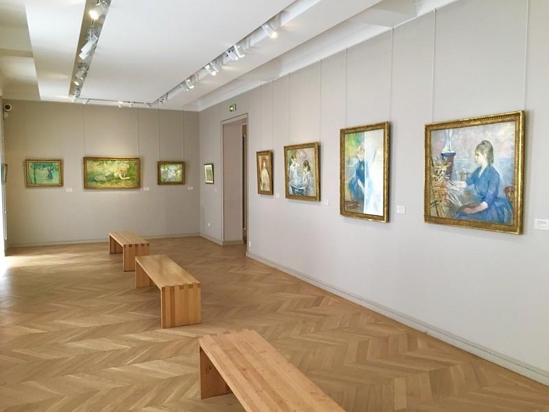 Berthe Morisot paintings at the Marmottan Monet Museum