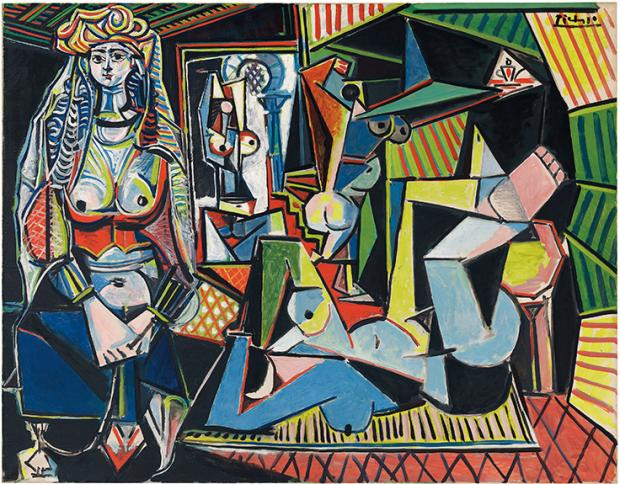 The Women of Algiers - one of Pablo Picasso famous artworks