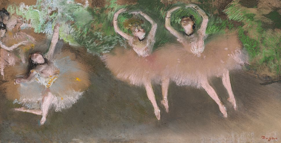 Free online art history course called: Edgar Degas and Impressionism