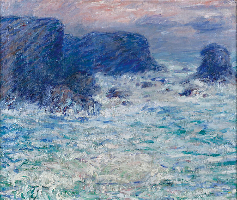 John Peter Russell Painting of Belle Ile