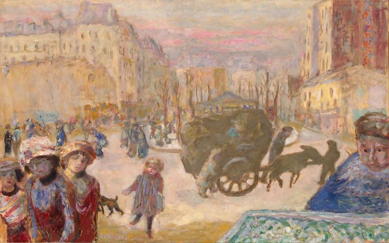 Pierre Bonnard Painting of Paris