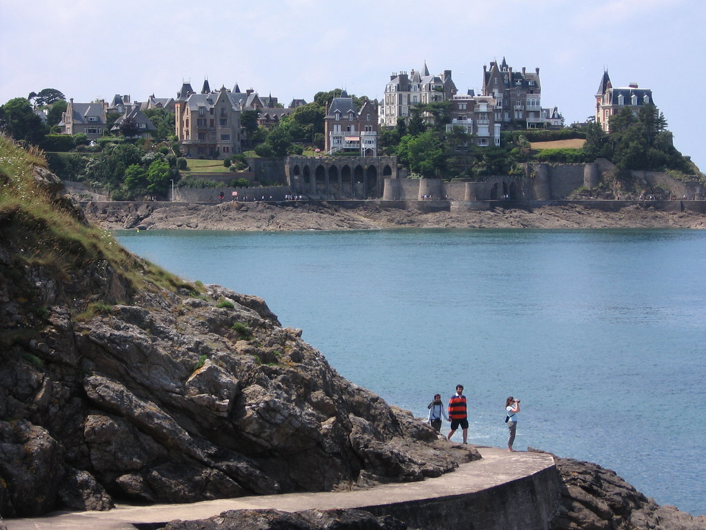 Places to See in Brittany: Dinard Seaside Resort from the Belle Epoque Era