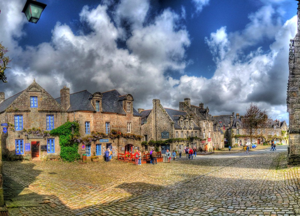Places to See in Brittany:  Locronan