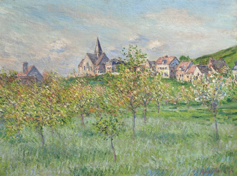 Spring in Giverny - Claude Monet Landscape