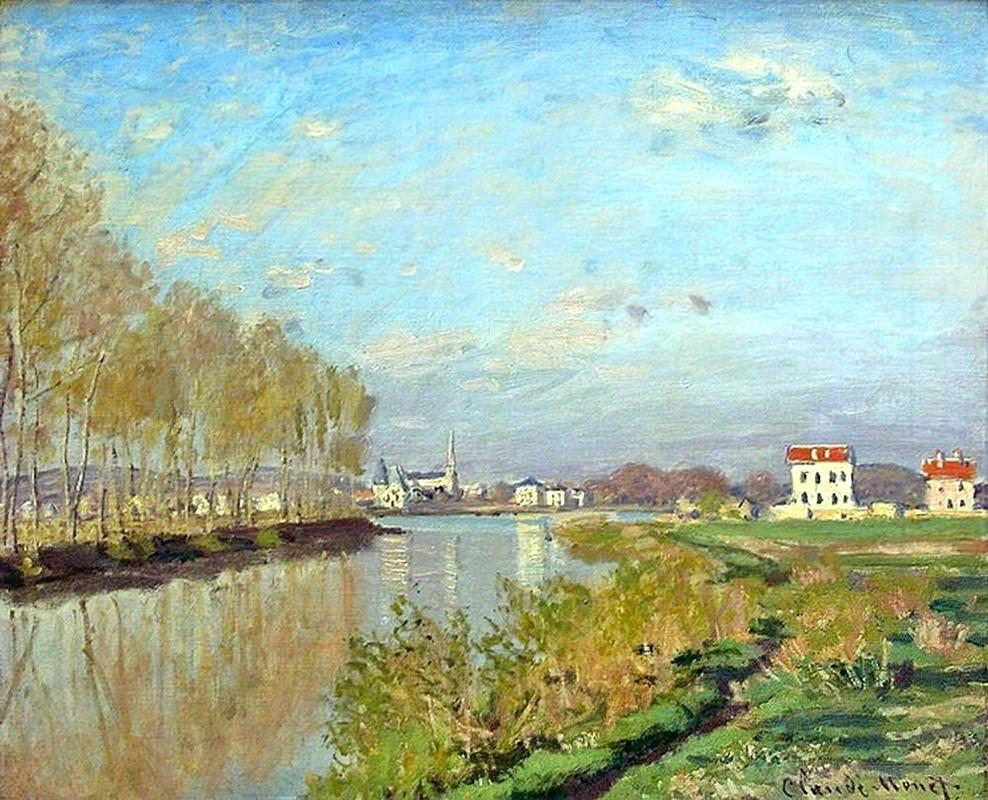 Claude Monet Landscape of  Argenteuil