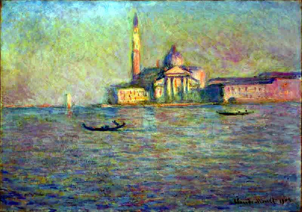 Monet Impressionism Artworks of Venice