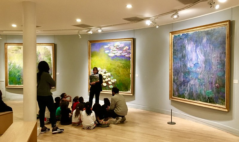 Musee Marmottan Monet - one the best museums in France for impressionism art