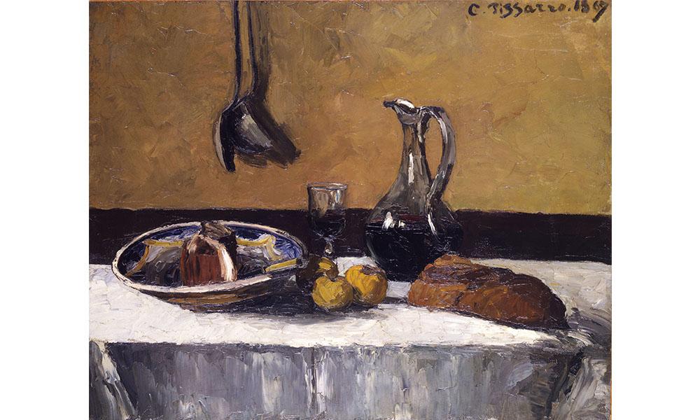 Camille Pissarro still life painting