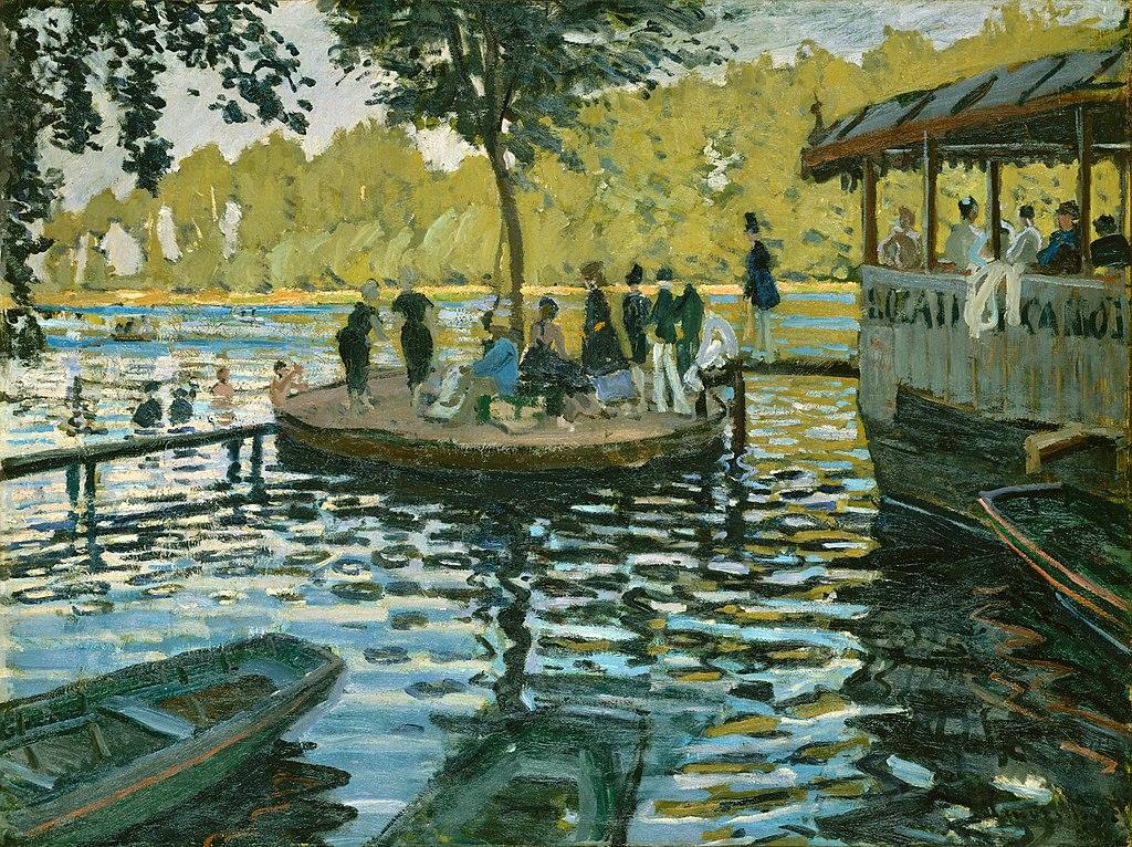 La Grenouillère - Famous Monet painting