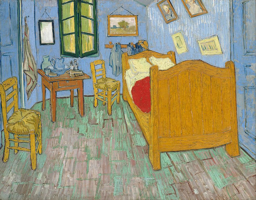 Vincent Van Gogh Bedroom Painting