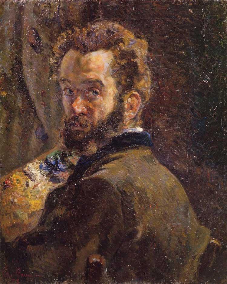 Armand Guillaumin Self Portrait