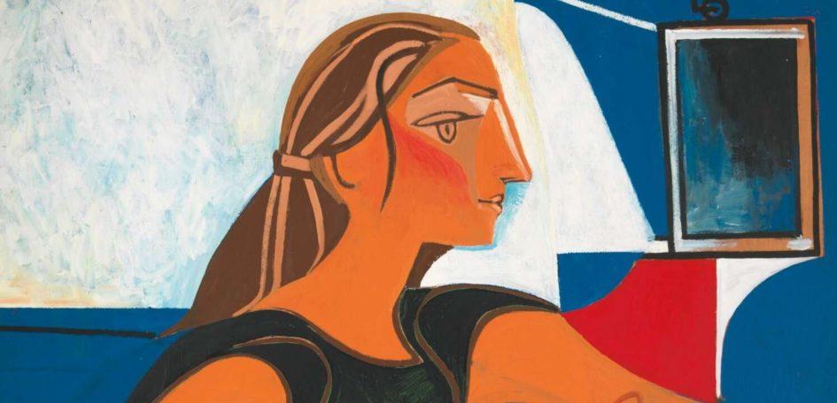 Pablo Picasso portrait of The Independent Françoise Gilot