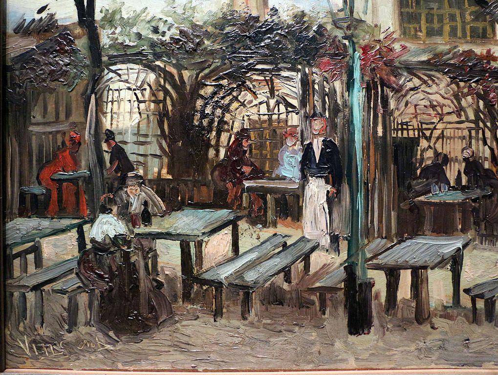 Vincent Van Gogh Painting -  Terrace of a Cafe on Montmartre (La Guinguette)