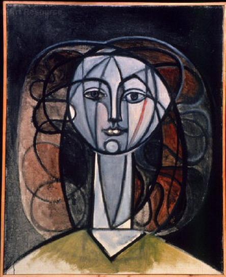 Francoise Gilot Portrait by Pablo Picasso