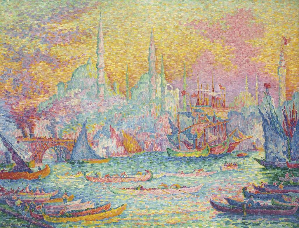 Paul Signac impressionism artwork - Istanbul