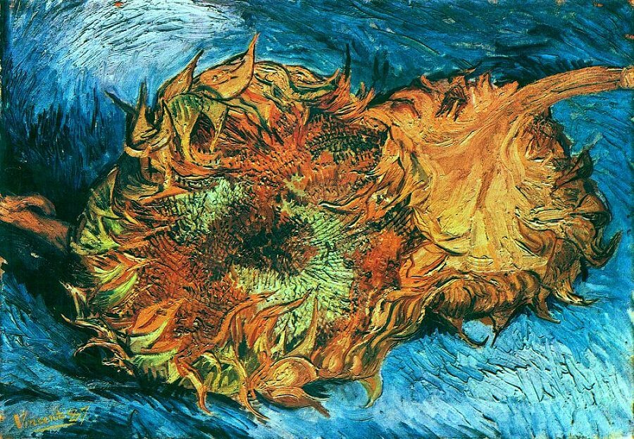 Sunflowers series are one of the most famous Van Gogh Paintings