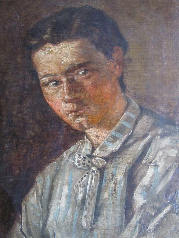 "Victorine-Louise Meurent painting entitled ""Uarda"", 1874"