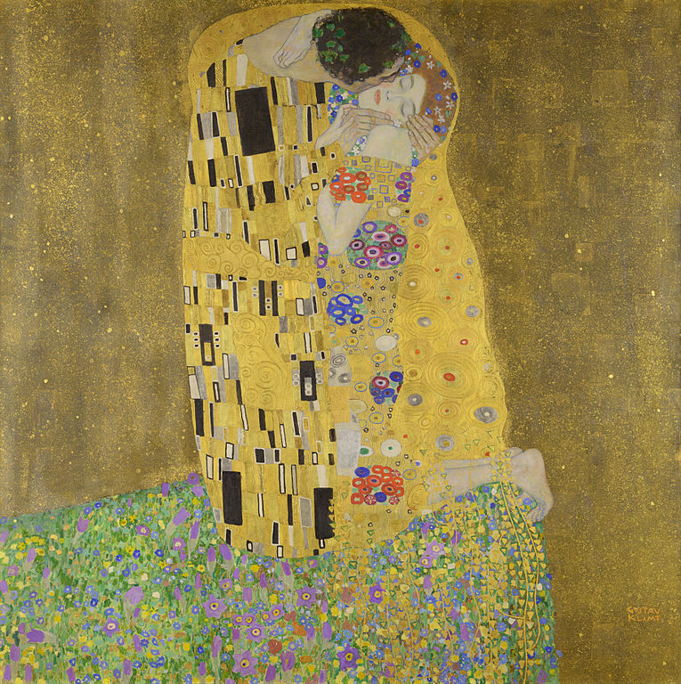 The Kiss Painting by Gustav Klimt
