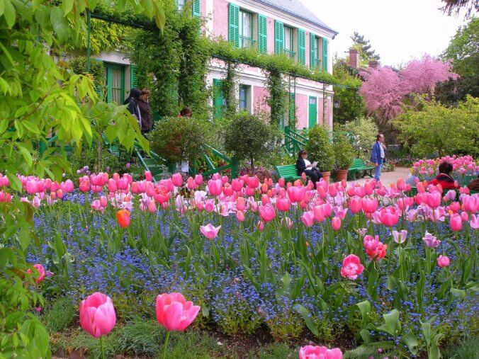 Monet's house and garden in Giverny, Normandy