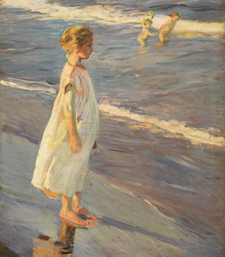 Joaquín Sorolla impressionism painting entitled Nina
