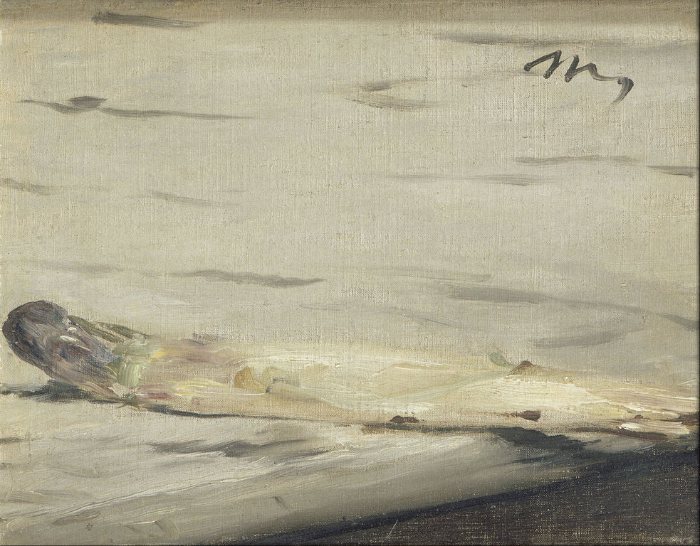 One of the Still Life Asparagus Edouard Manet Paintings