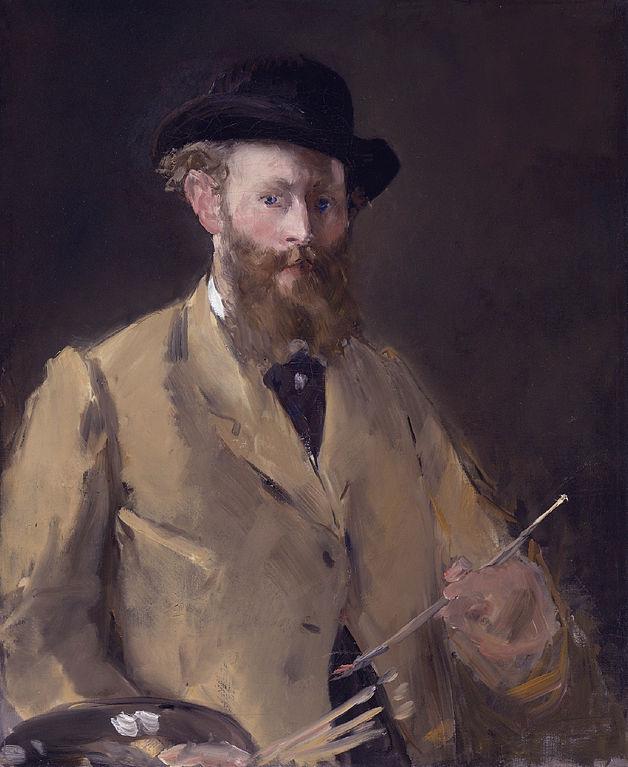 Edouard Manet painting - Self Portrait