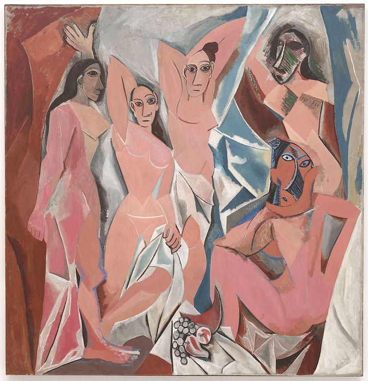 Pablo Picasso Famous Artworks: Les Demoiselles d'Avignon