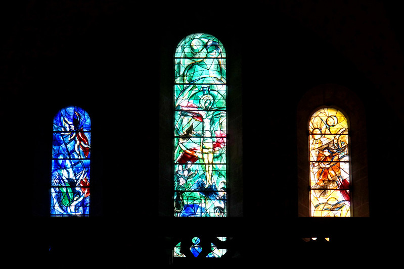 Fraumünster Church - Marc Chagall stained glass windows