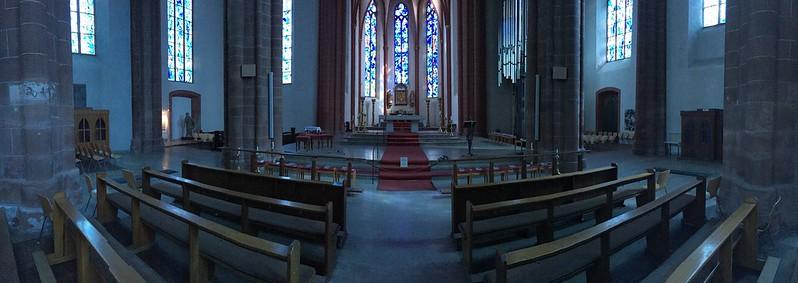 St Stephan's church Chagall Stained Glass Windows, Mainz