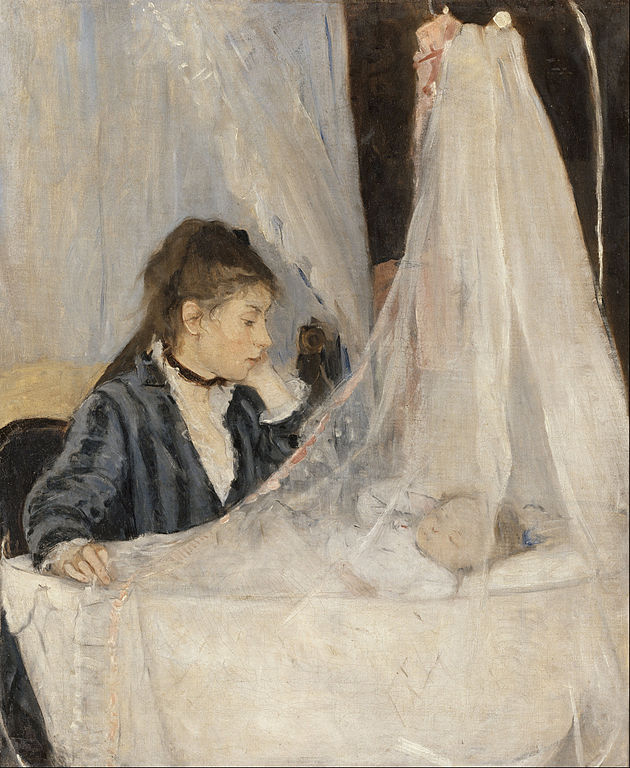 The Cradle - One of Berthe Morisot famous paintings.