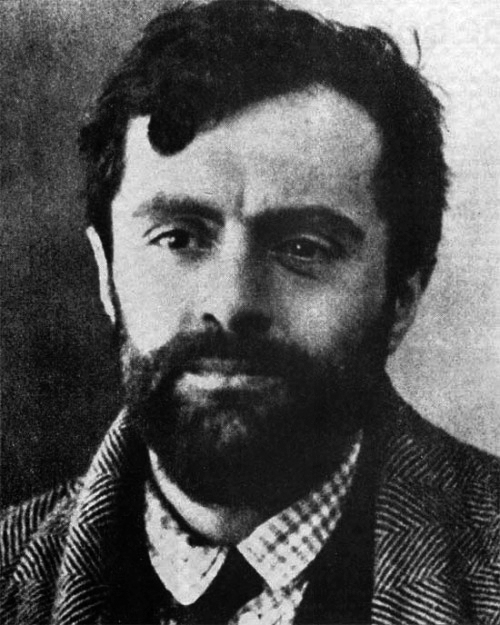 A photo of Amedeo Modigliani towards the end of his life