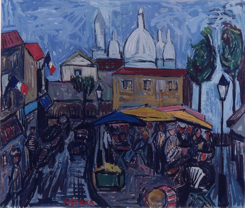 "Isis Kischka - One of the Immigrant Jewish Painters belonging to the ""School of Paris"""